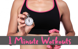 1 minute workout